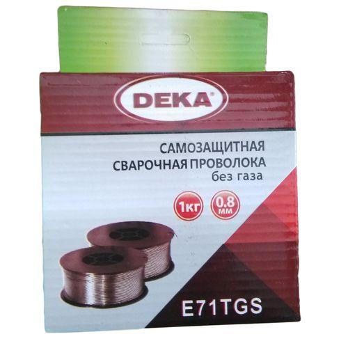 Самозащитная сварочная проволока Deka E71TGS